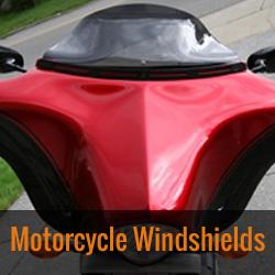 Motorcycle Fairing Windshields