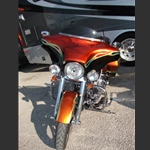 Wide Open Custom Motorcycle Fairings For Harley-Davidson Road King Custom Bikes