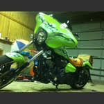 Motorcycle Fairings For Yamaha Raider Bikes from Wide Open Custom