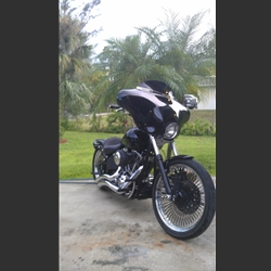 Harley Night Train >> Harley Davidson Night Train Fairing Custom Made By Woc